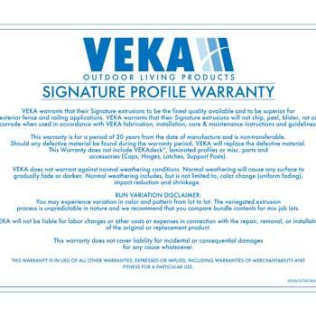 Signature Warranty