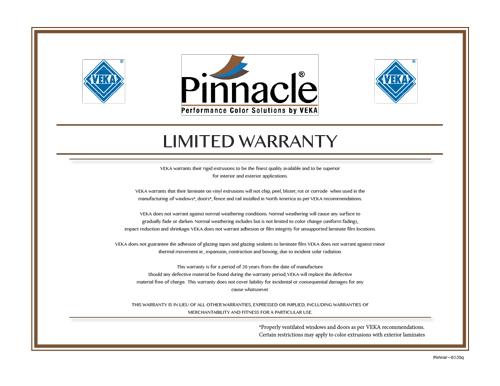 Laminate Warranty