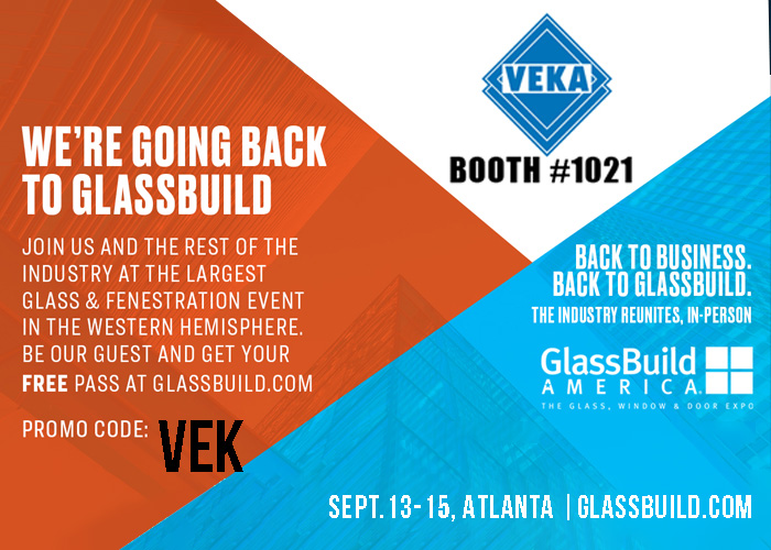GlassBuild September 13-15, 2021