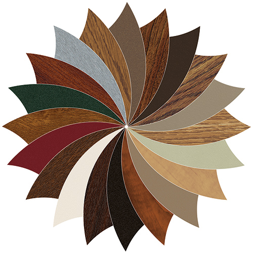 VEKA's Laminate Colors