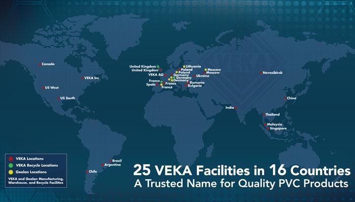 Veka worldwide veka inc for Veka fenster