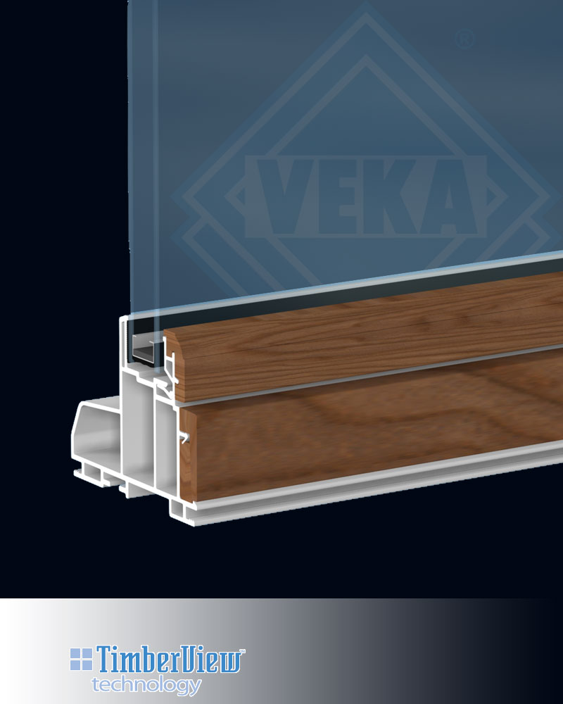 Vinyl Window Frame : Timberview™ wood vinyl window veka inc