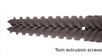 Twin Extrusion Screws